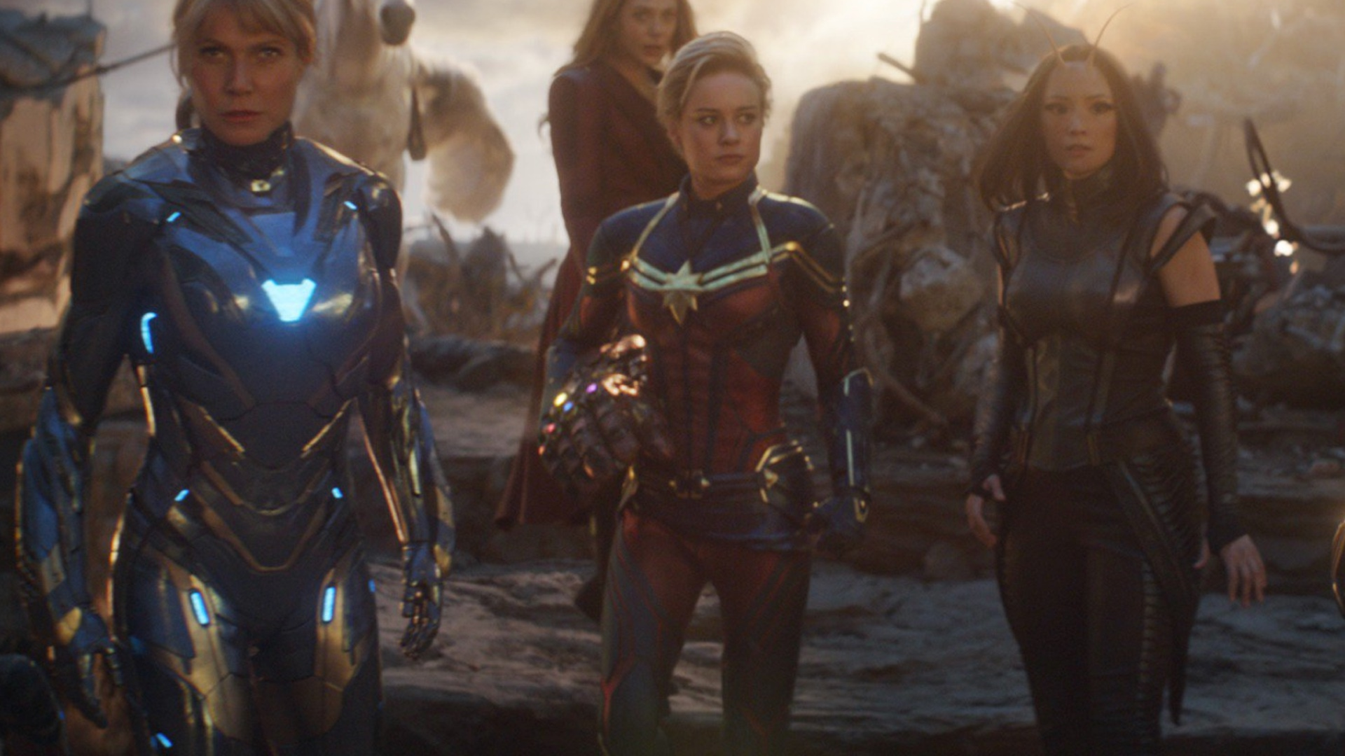 Captain Marvel S Suit Was Entirely Cgi In Avengers Endgame Geektyrant