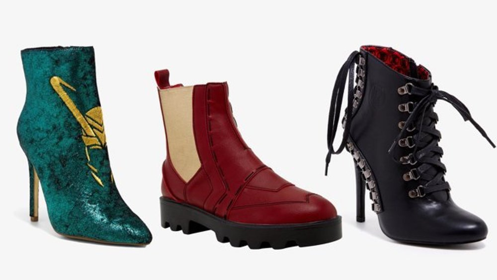 Marvel's Avengers Women's Boot Collection Available at Hot Topic