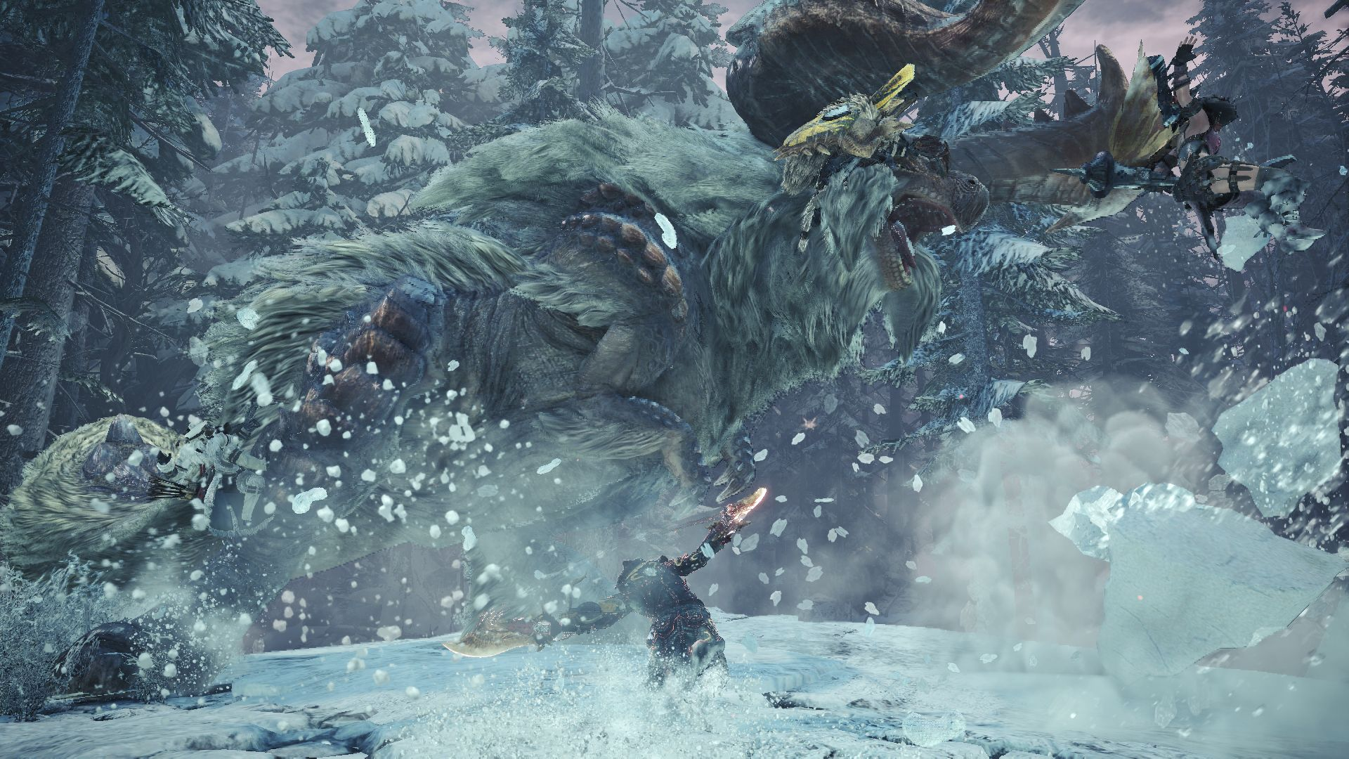 Capcom Unveils New Trailer For Monster Hunter World Iceborne
