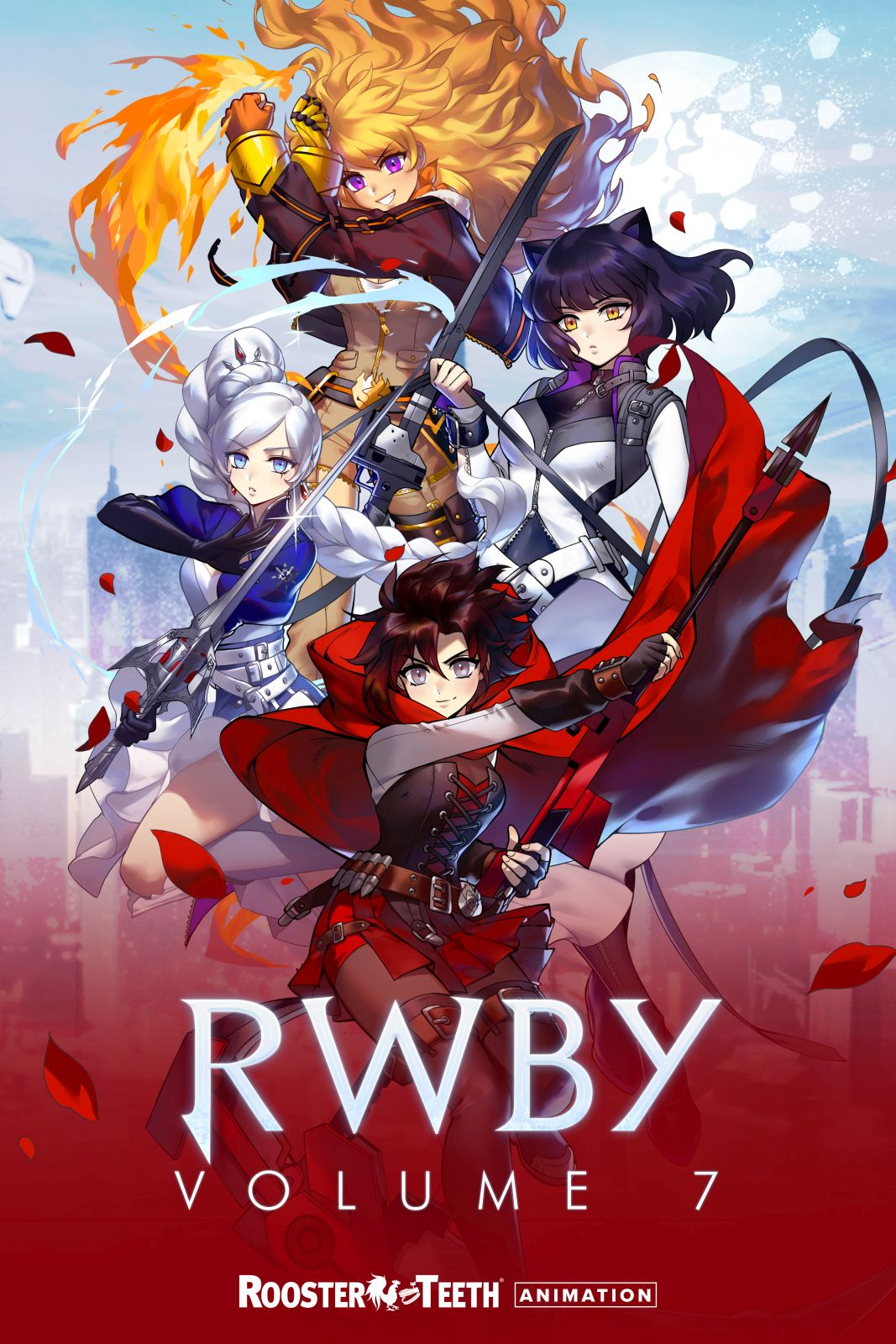 RWBY Volume 7 Is Coming in November and We Have a Poster to Share
