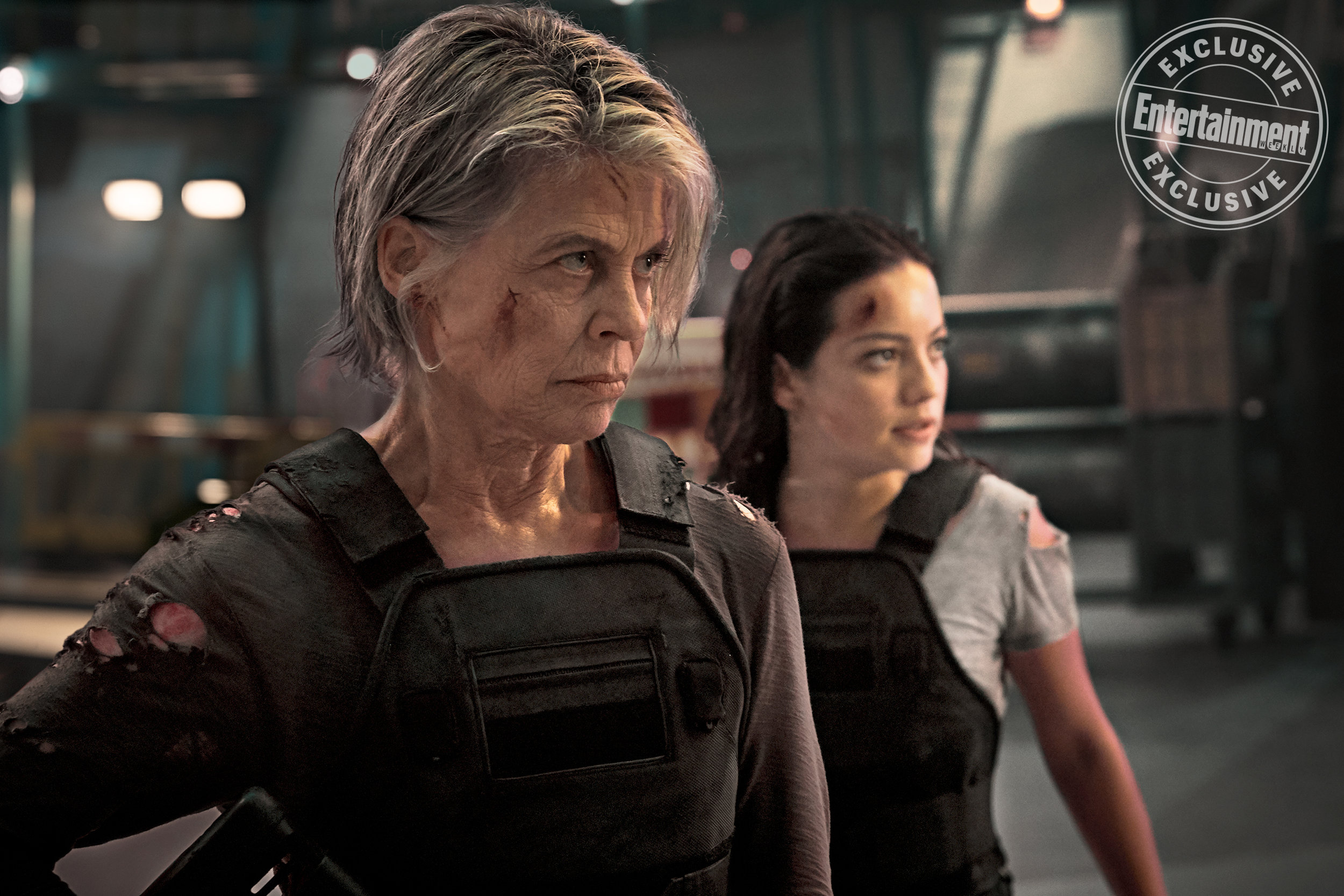 New Photos of Sarah Connor in TERMINATOR: DARK FATE and Linda Hamilton Offers New Details About Her Character