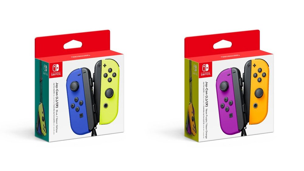 Nintendo Has Revealed 4 New Joy Con Colors