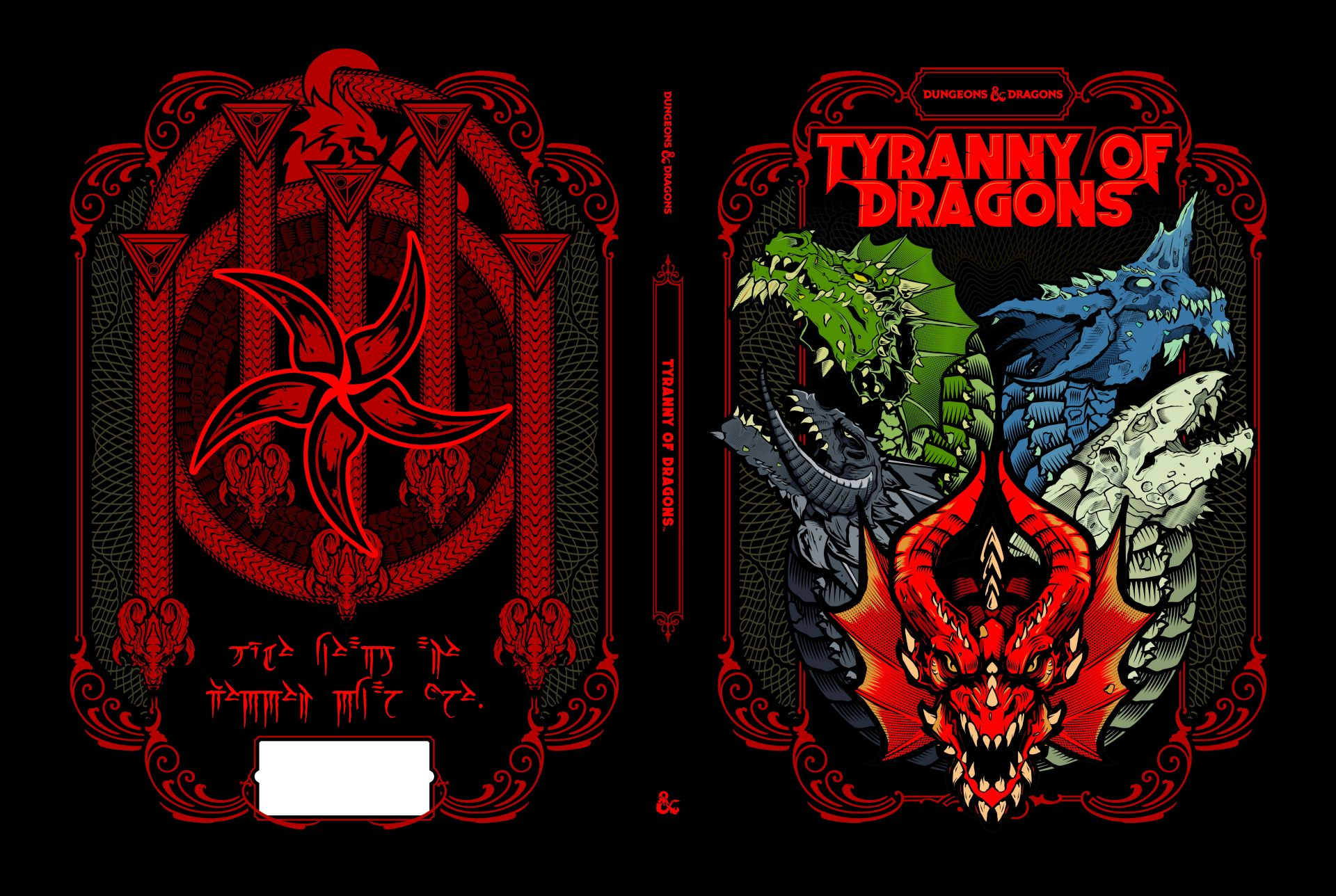 DUNGEONS & DRAGONS to Re-Release TYRANNY OF DRAGONS In Celebration