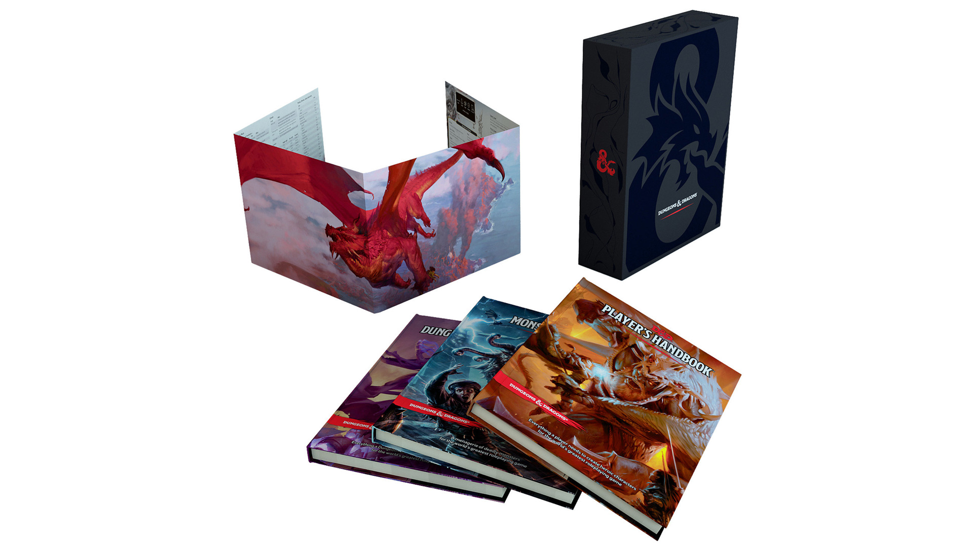 DUNGEONS & DRAGONS Core Rulebook Gift Set On Sale for 50% Off ...