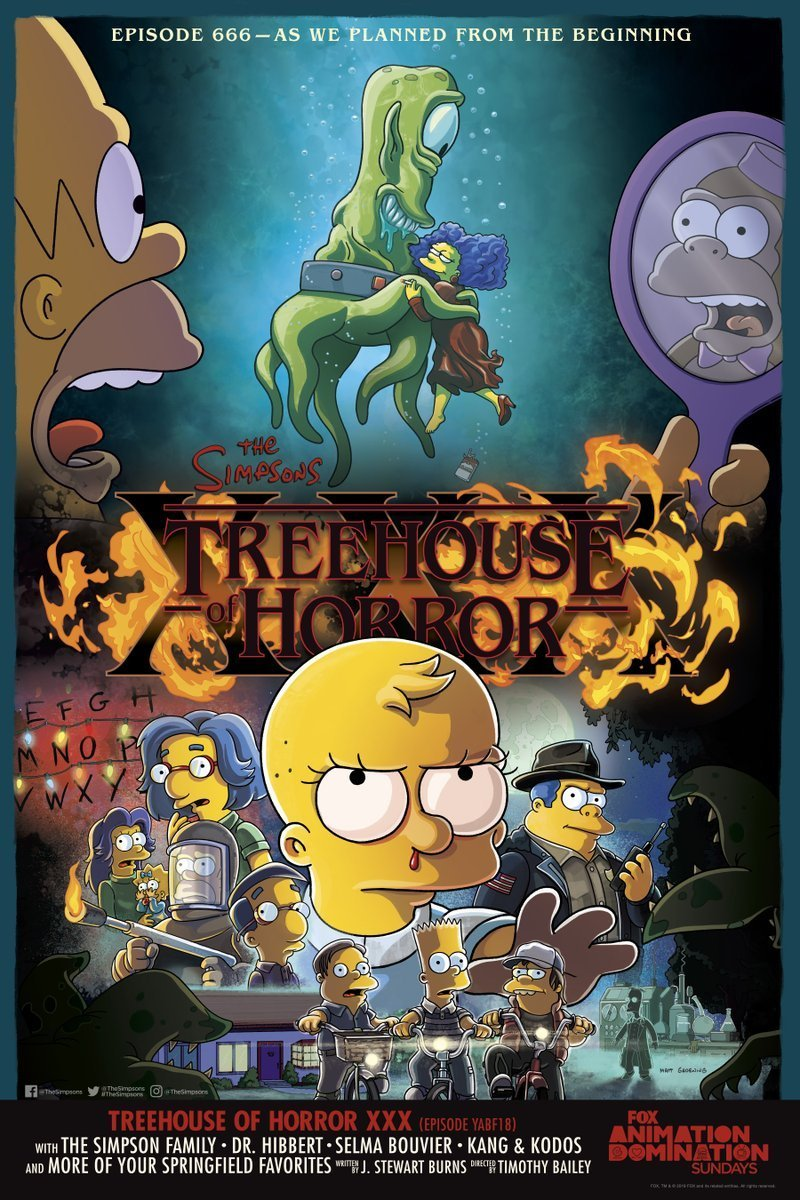 poster-for-the-simpsons-treehouse-of-horror-xxx-teases-stranger-things-and-the-shape-of-water-spoofs3