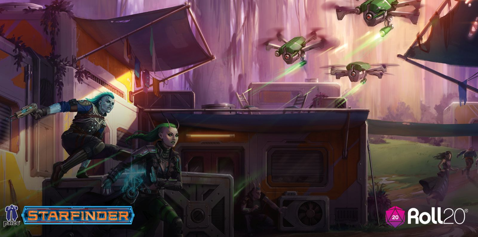 STARFINDER's AGAINST THE AEON THRONE Comes to Roll20