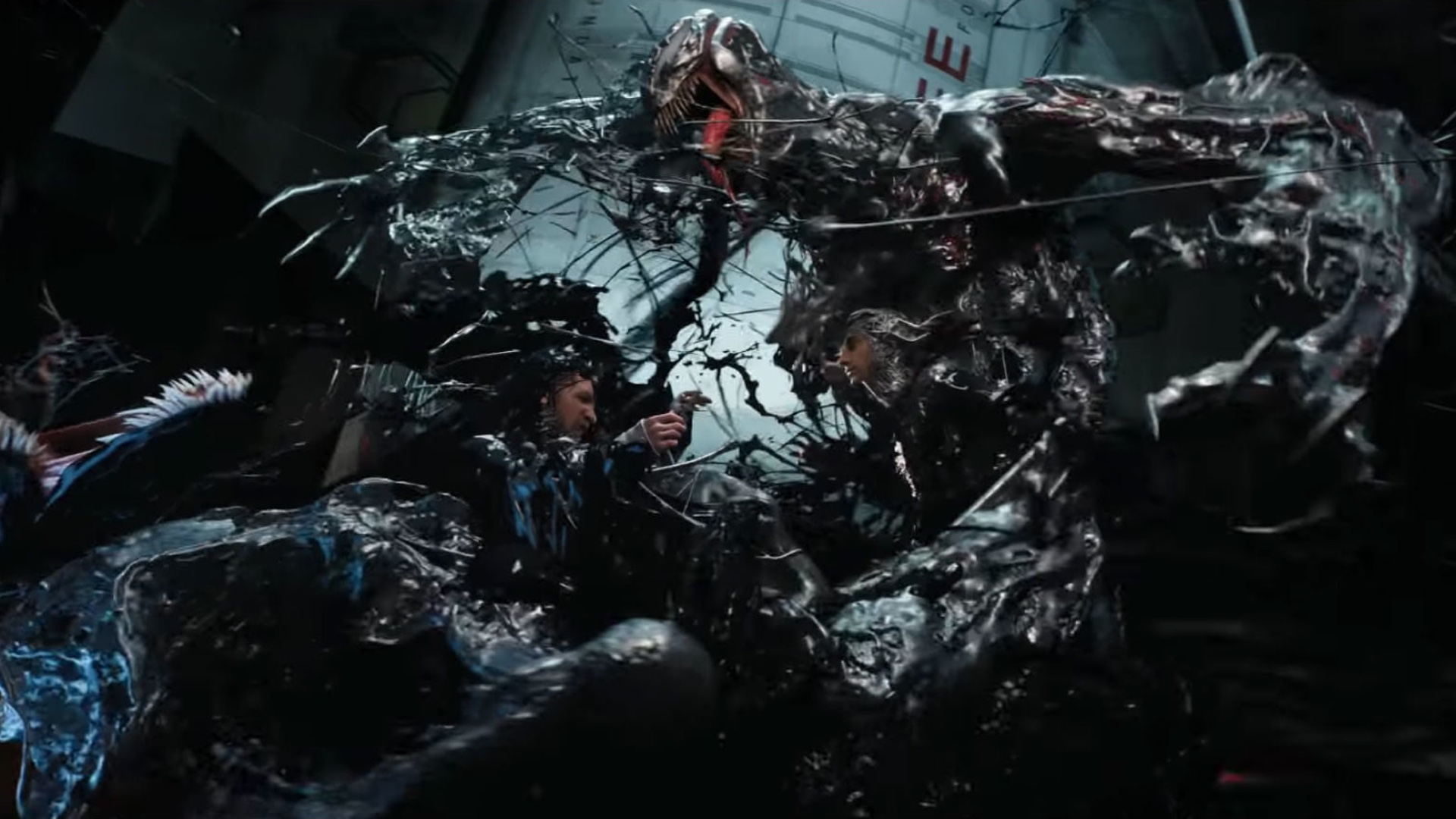 Cool Concept Art From VENOM Shows an Unused Scene and a Fight Sequence