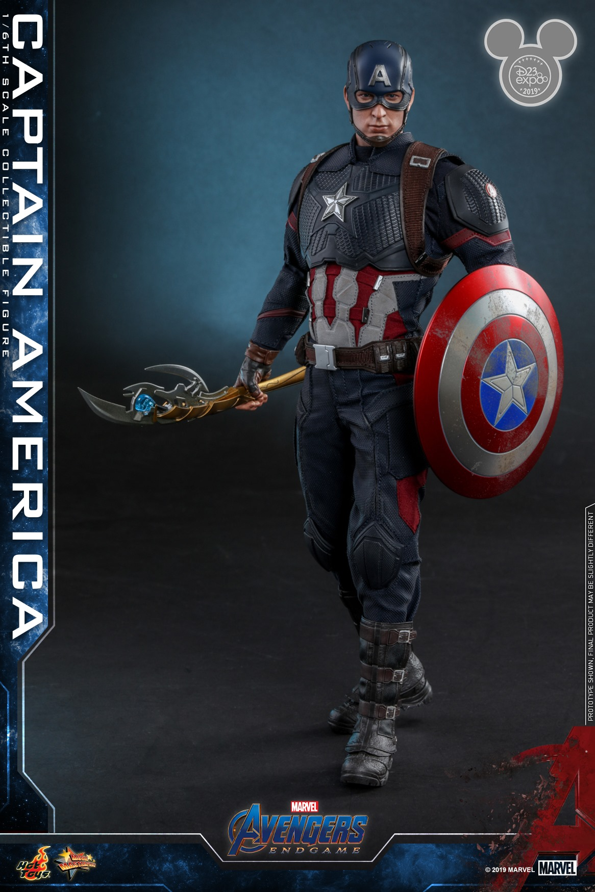 Check Out Hot Toys' Ultimate AVENGERS: ENDGAME Captain ...