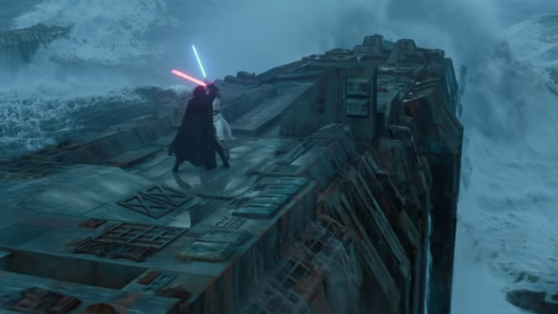 Star Wars Fan Points Out An Error In The Rise Of Skywalker Trailer Involving Kylo Ren Geektyrant