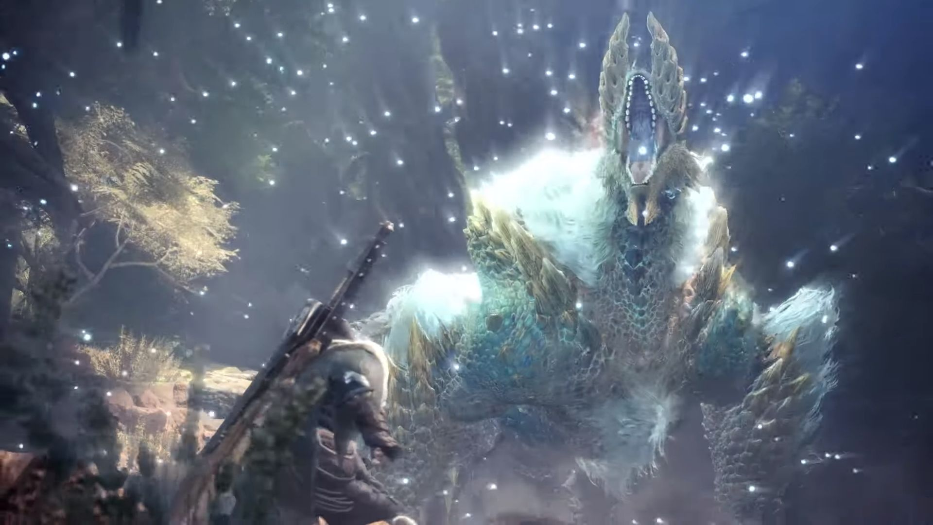 New Video For Monster Hunter World Iceborne Shows Off Zinogre And