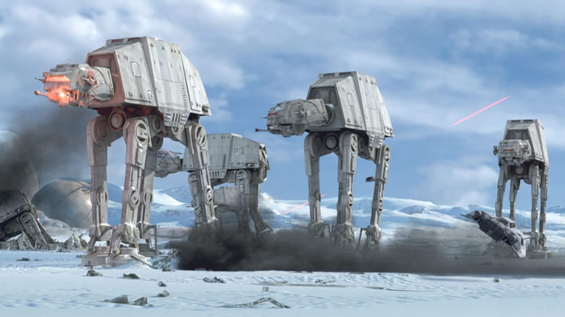 The Speed Of An At At Walker In Star Wars Has Been Analyzed By A Fan Geektyrant