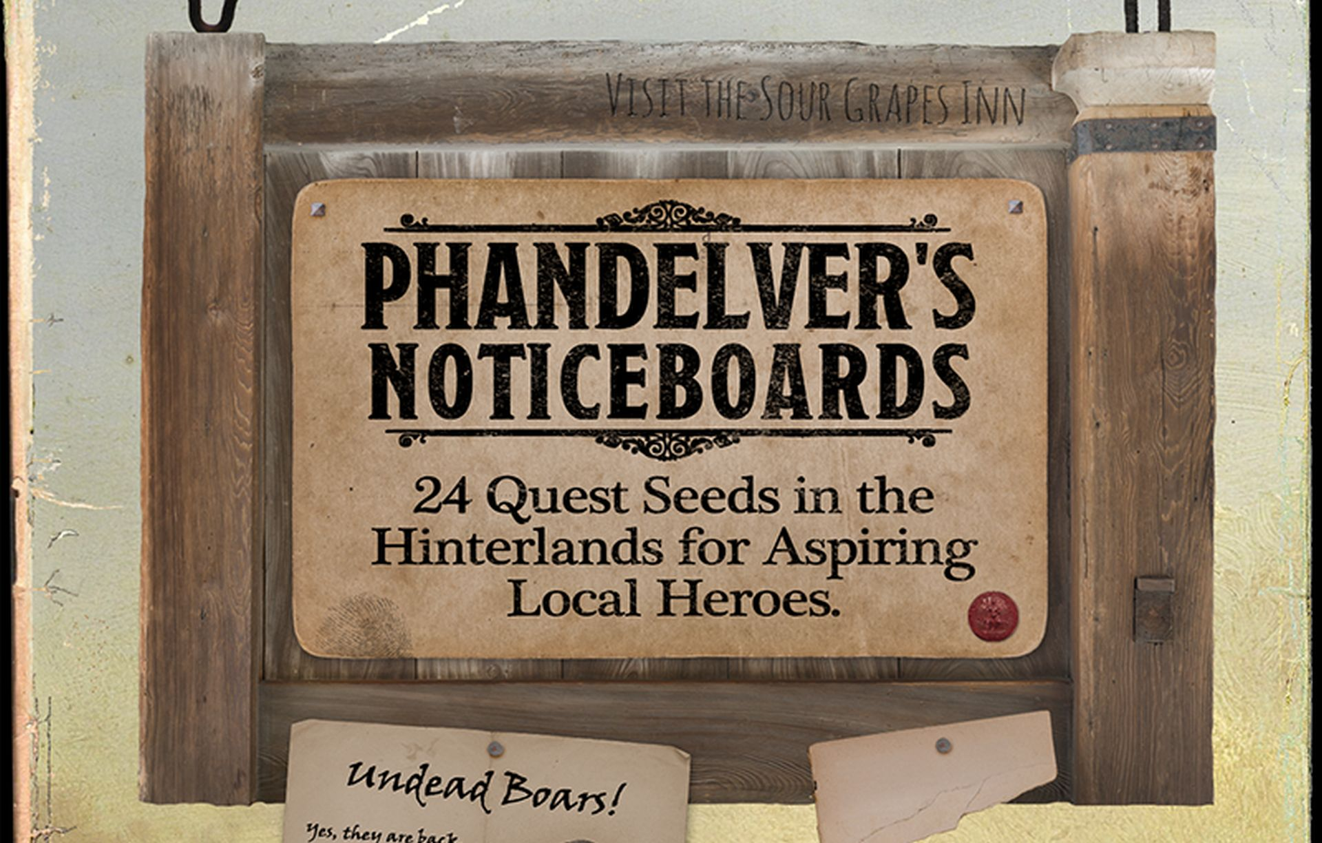 PHANDELVER'S NOTICEBOARDS Is Full of Side Quests for Low