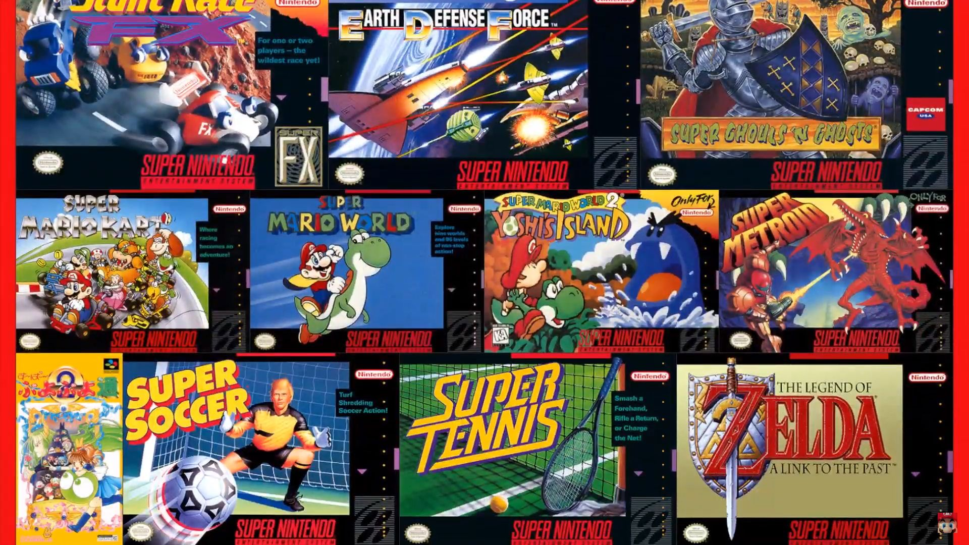 The September Nintendo Direct Introduces SNES Library for