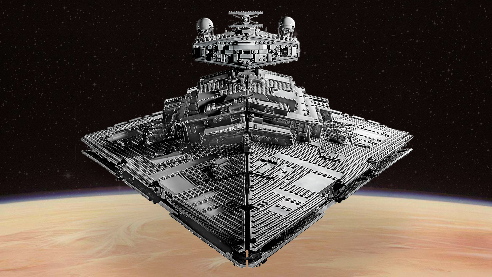 Incredible 4,784 Piece Lego STAR WARS Imperial Star
