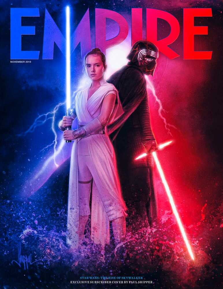 Star Wars The Rise Of Skywalker Money Shot Spoilers Kylo Ren And Rey Magazine Covers And Character Descriptions Geektyrant