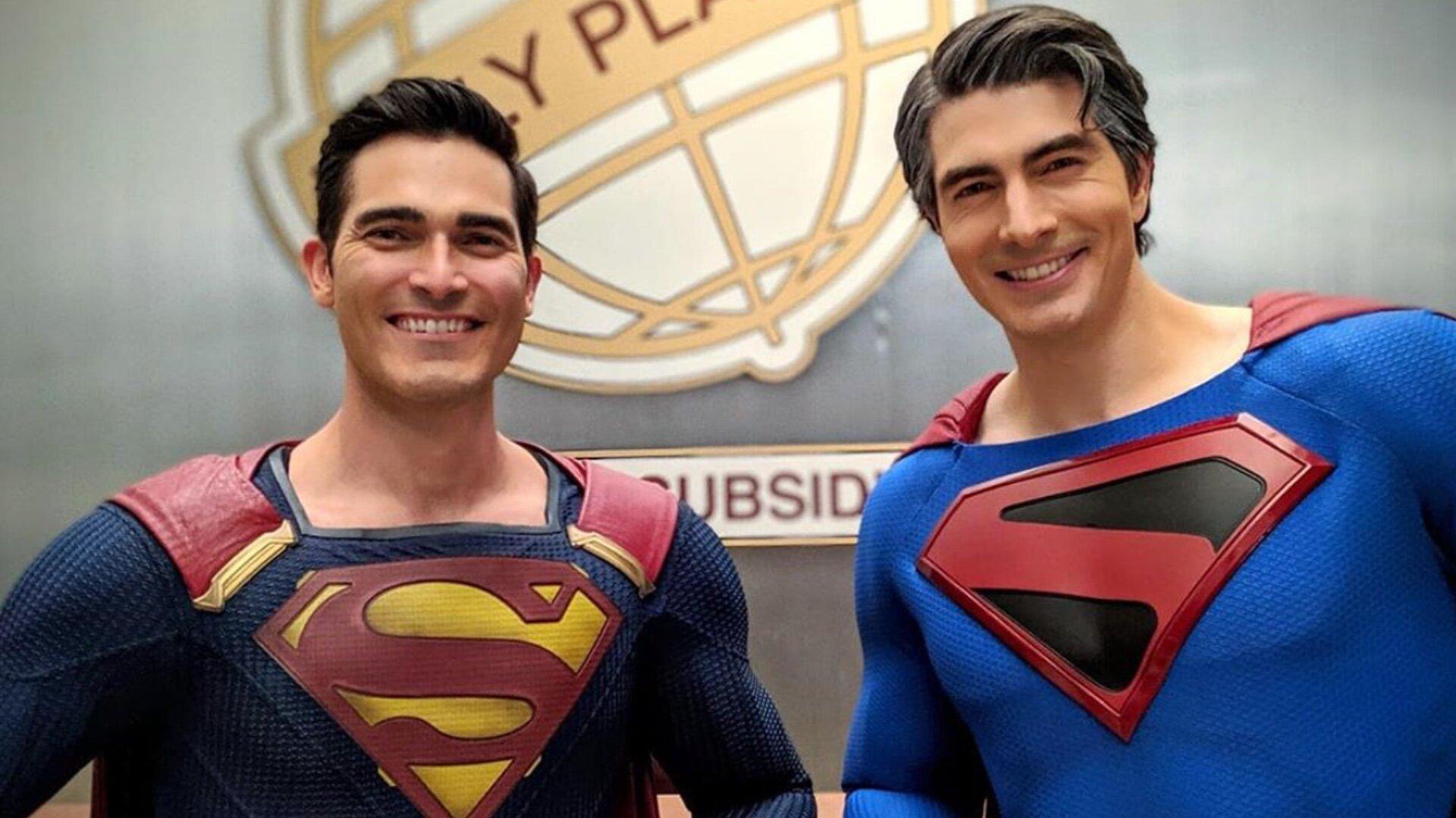 影集版天國降臨超人確定來自《超人再起》並將跟綠箭宇宙超人大戰(內有劇照)!