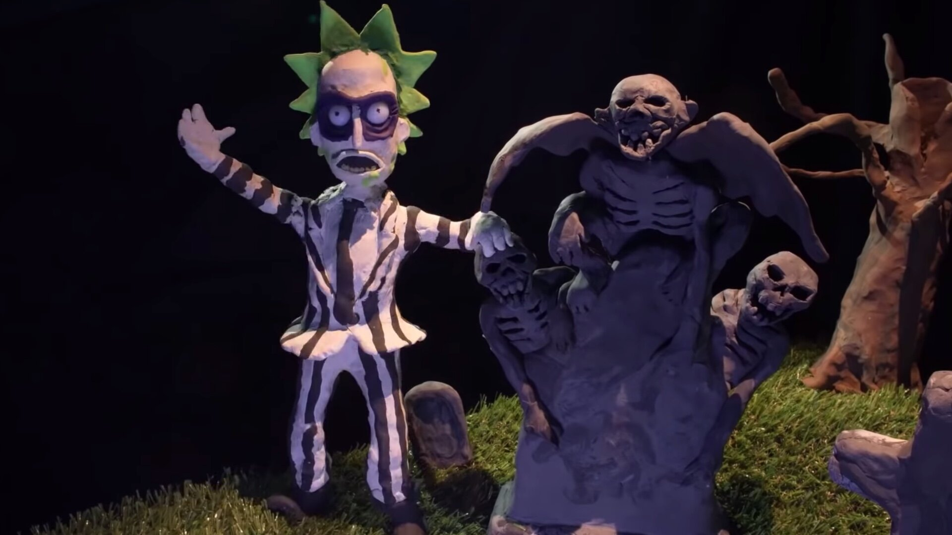 Halloween 2020 Non Canonical Adult Swim Shares Funny RICK AND MORTY: THE NON CANONICAL