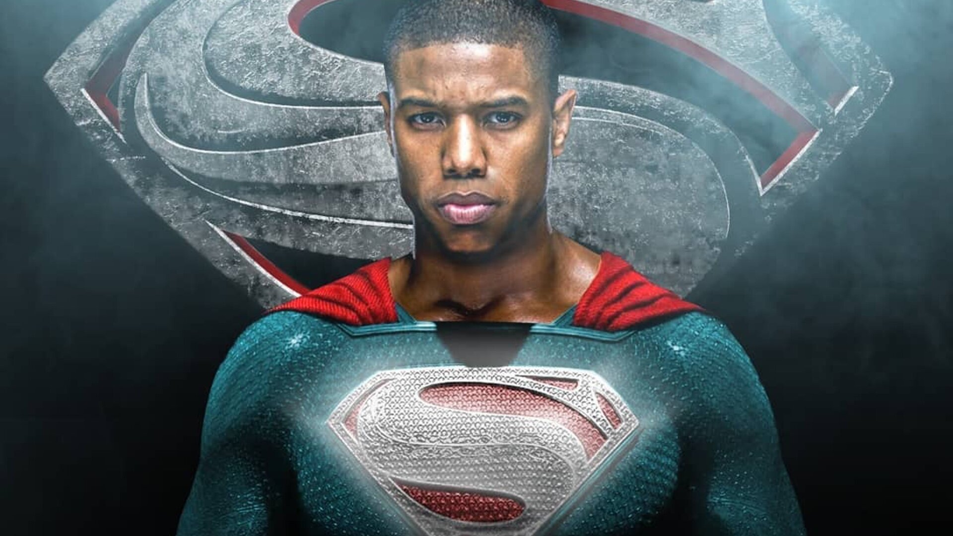 Hasil gambar untuk michael b jordan superman