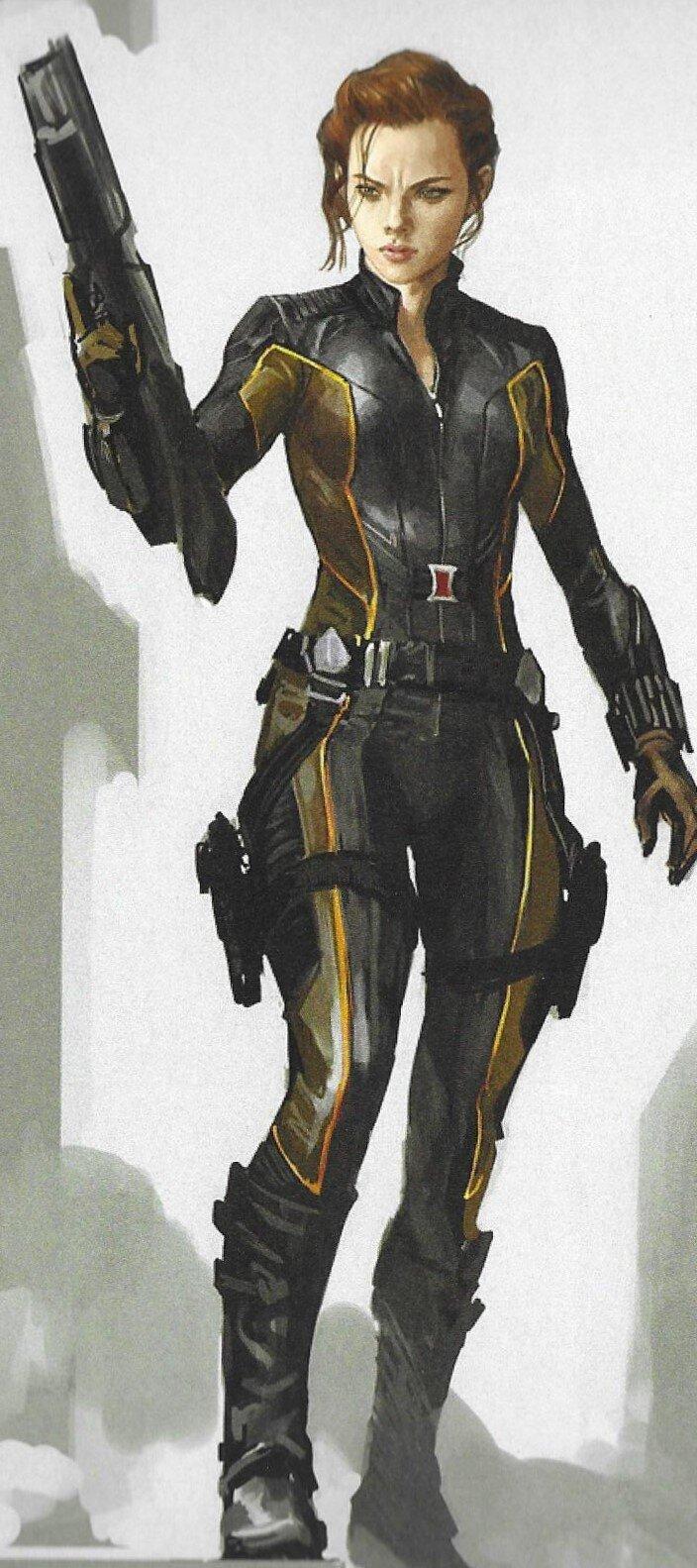Alternate Costume Designs For Black Widow And Hawkeye In Avengers Endgame Geektyrant