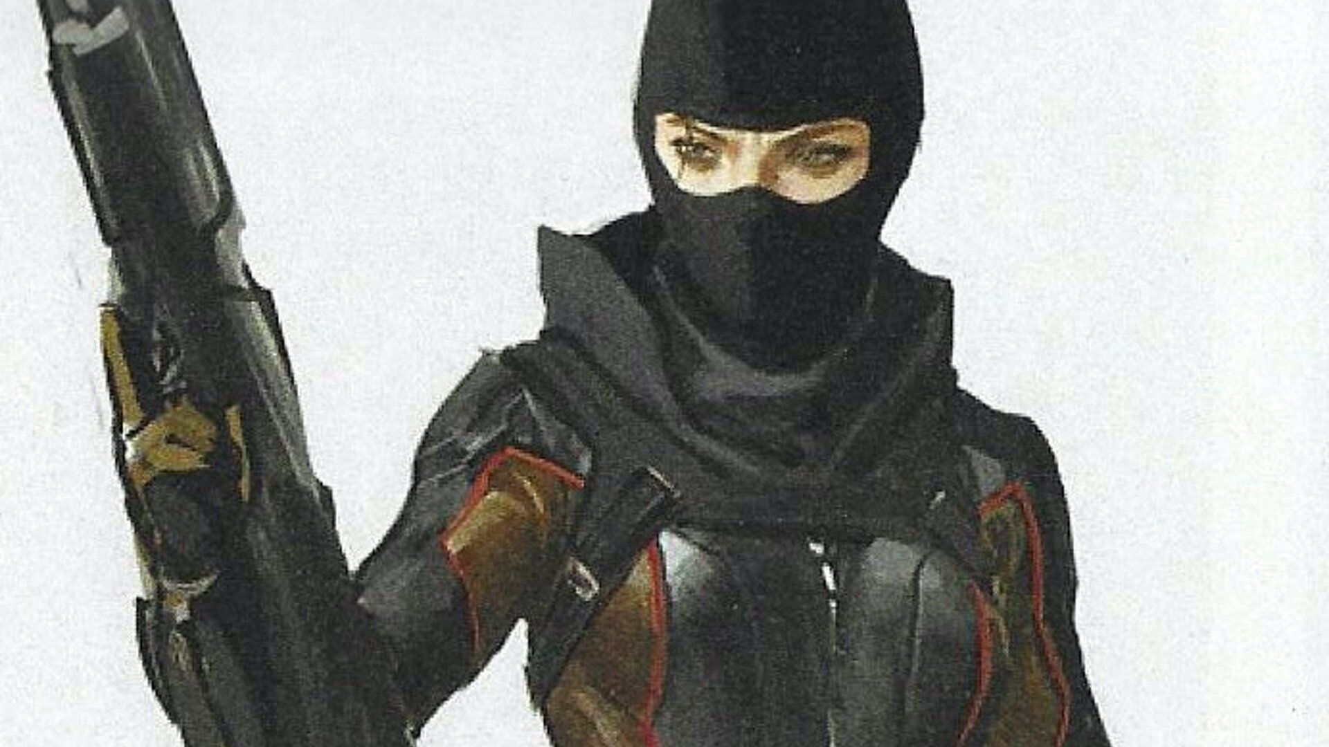 Alternate Costume Designs For Black Widow And Hawkeye In