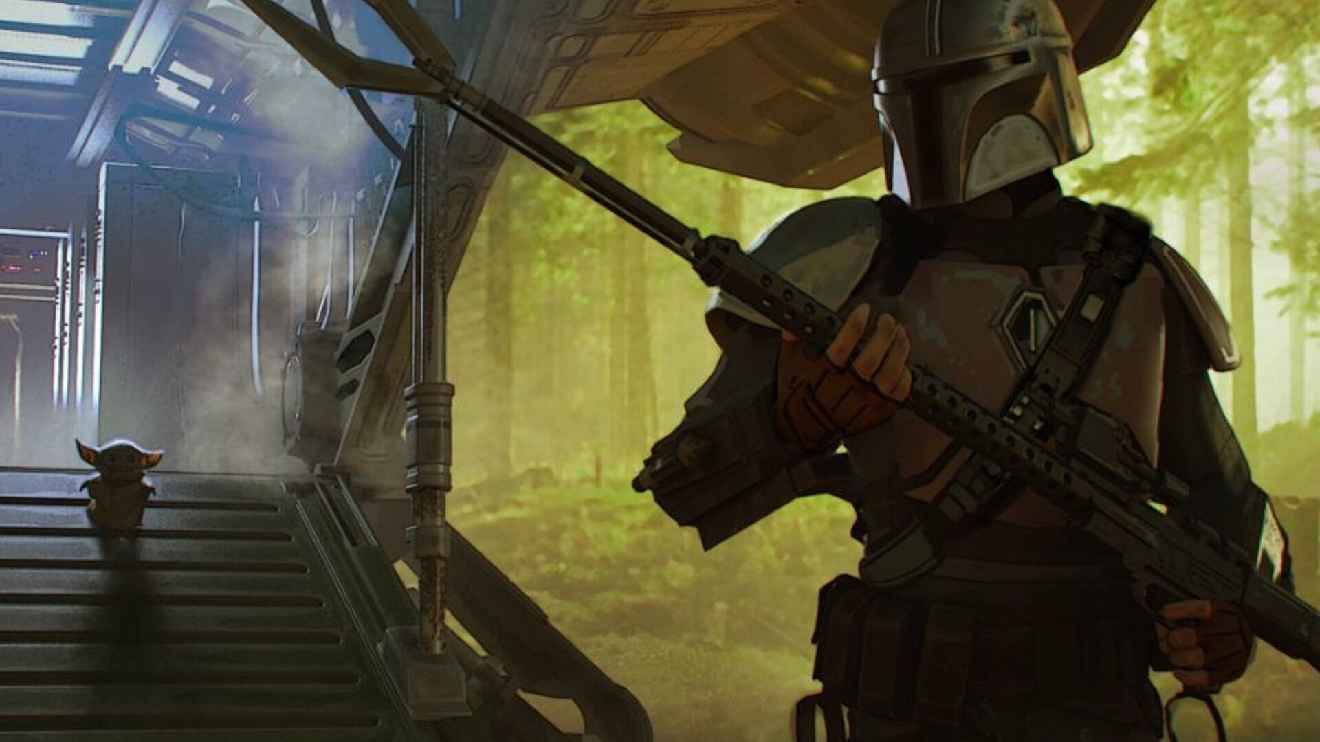 Lucasfilm Shares Concept Art For The Mandalorian Chapter 4