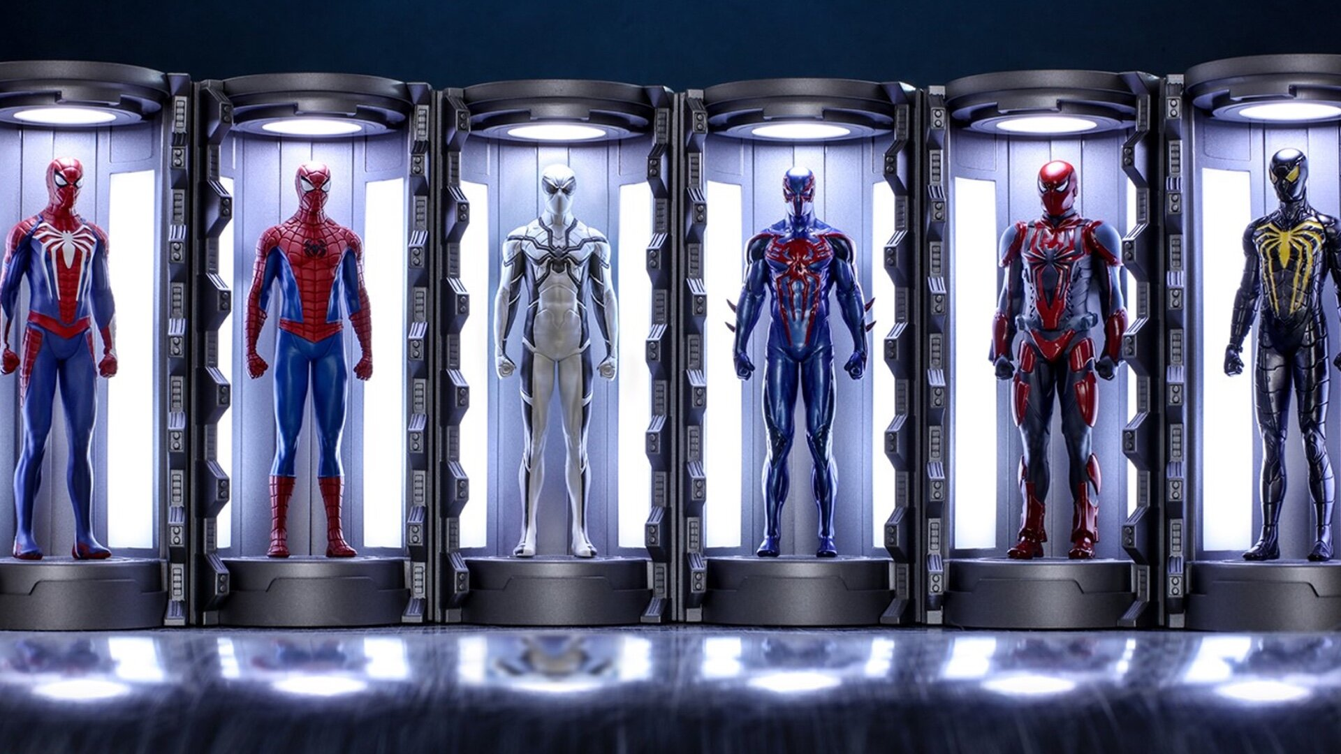 Hot Toys Reveals Iron Man And Spider Man Armories Collectibles