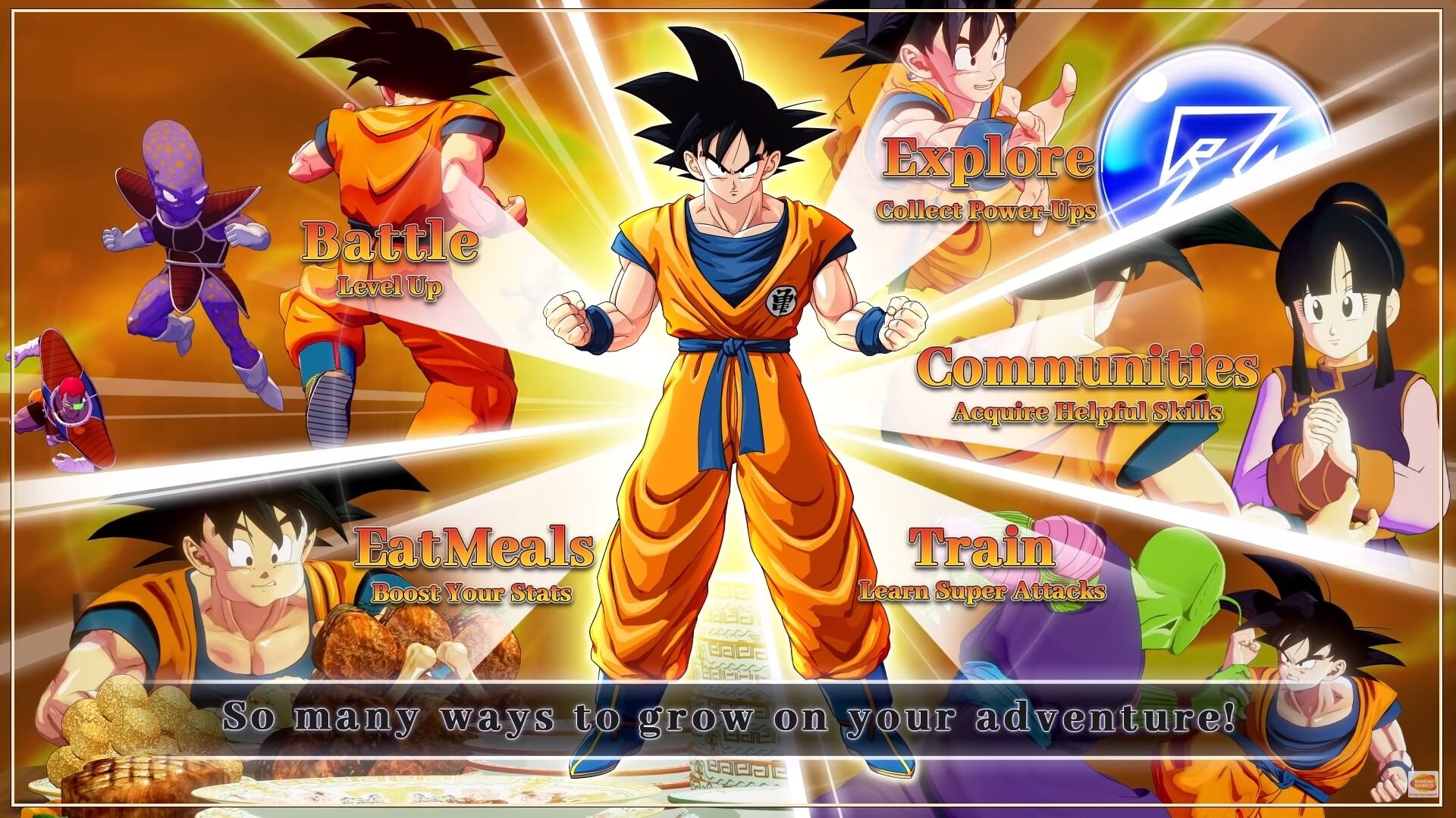 Learn About Character Progression For Dragon Ball Z Kakarot In