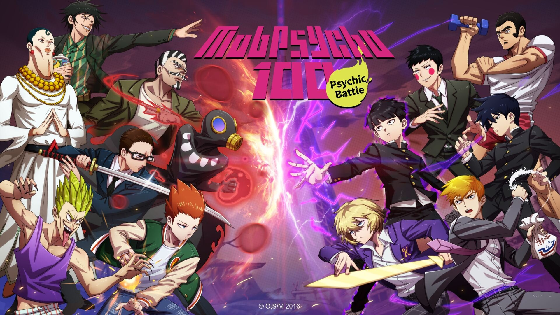 Mob Psycho 100 Psychic Battle Launches On Android And Ios