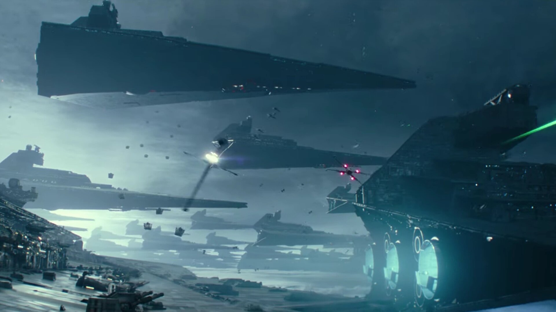 New Info On How Emperor Palpatine Came Back And Built His Star Destroyer Fleet In The Rise Of Skywalker Geektyrant