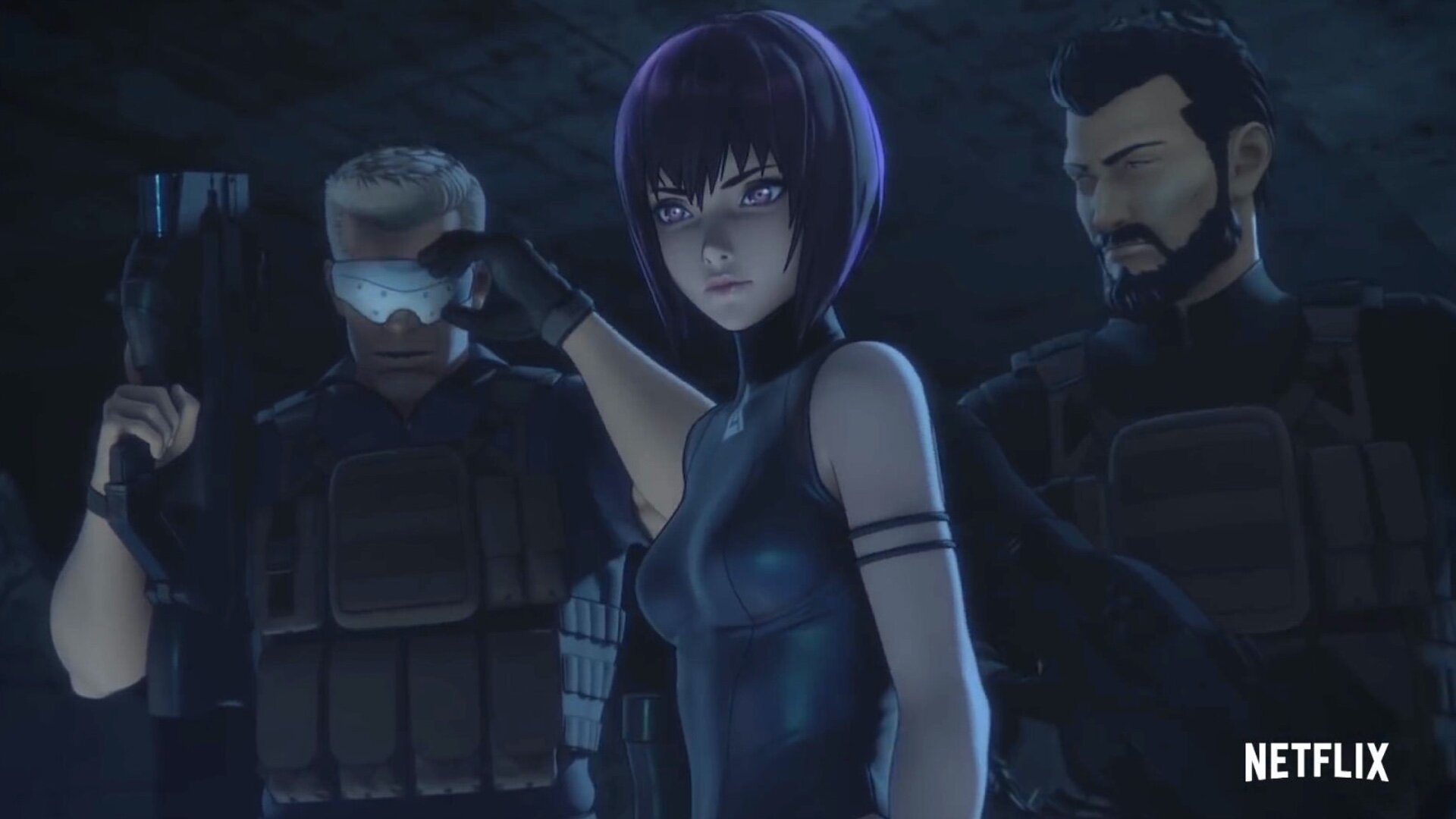 Cool Action Packed Trailer For Netflix S Ghost In The Shell Sac 2045 Anime Series Geektyrant