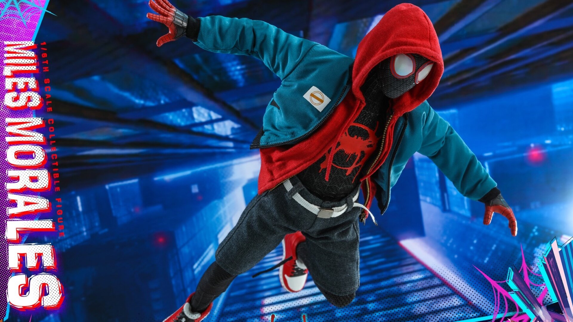 Hot Toys Reveals Their Spider Man Into The Spider Verse Miles