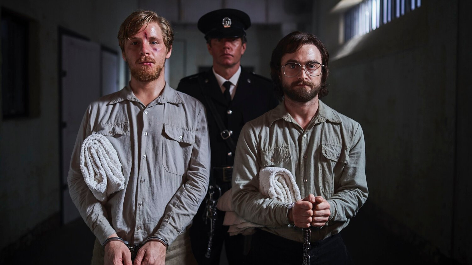 Review Escape From Pretoria Starring Daniel Radcliffe Tells An