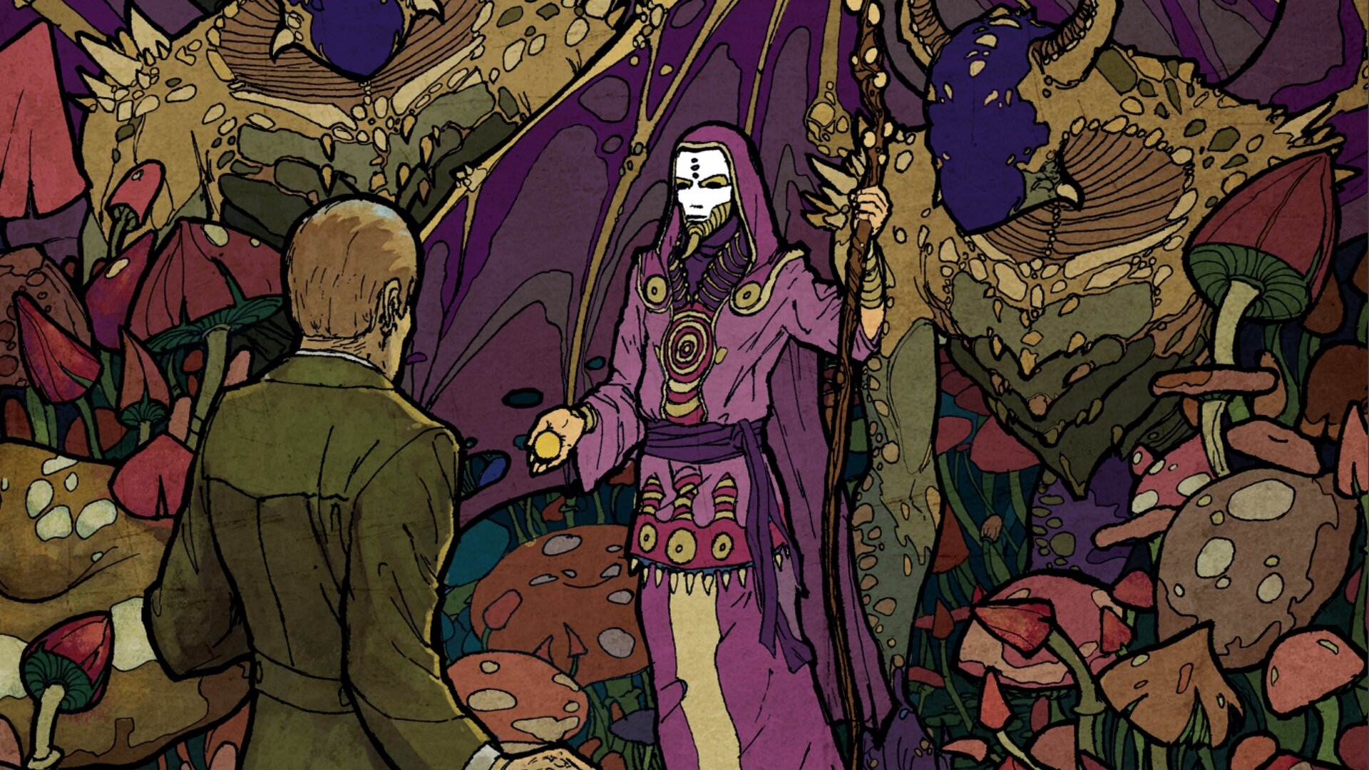 Enjoy This Fantastic and Free CALL OF CTHULHU Coloring Book ...