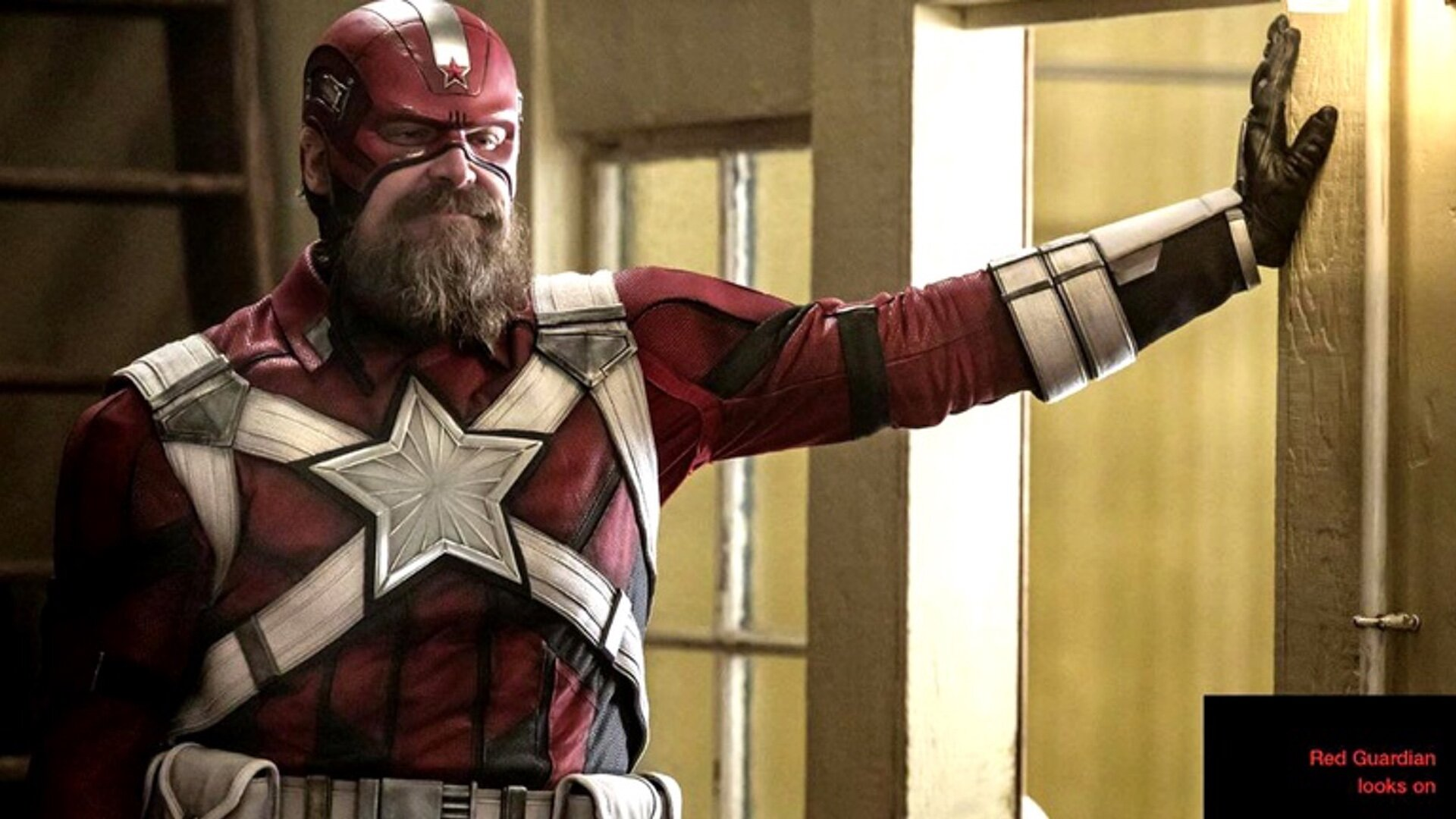 New Photo of David Harbour as Red Guardian in Marvel's BLACK WIDOW — GeekTyrant