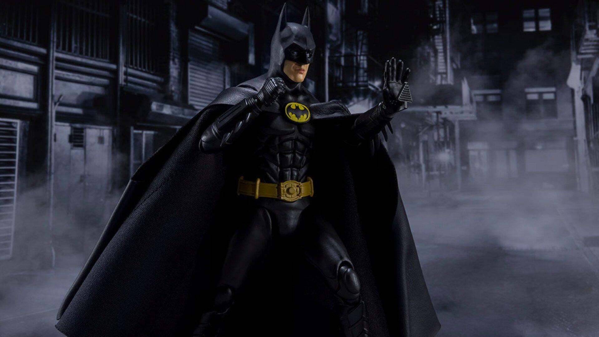 Impressively Cool Action Figure For Michael Keaton S 1989 Batman Geektyrant