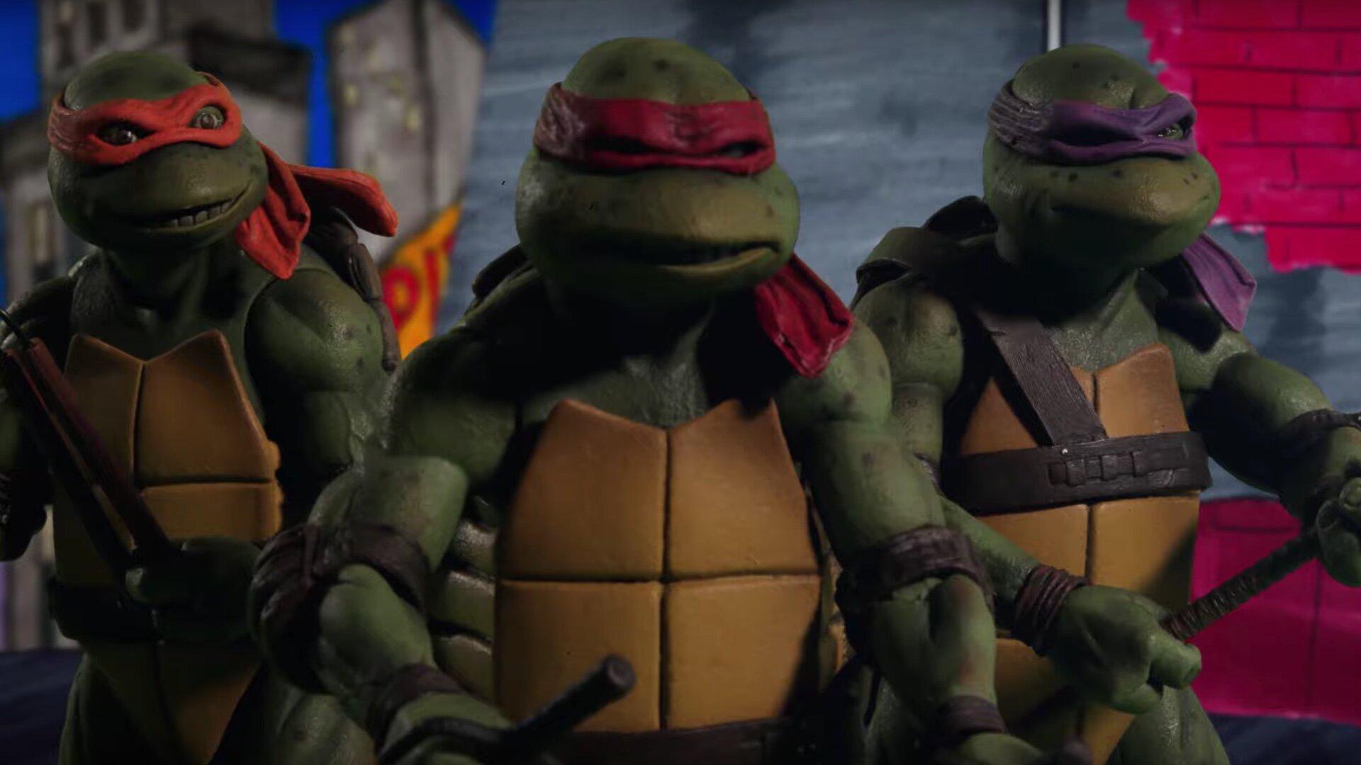 The Original Trailer For The 1990s Teenage Mutant Ninja Turtles