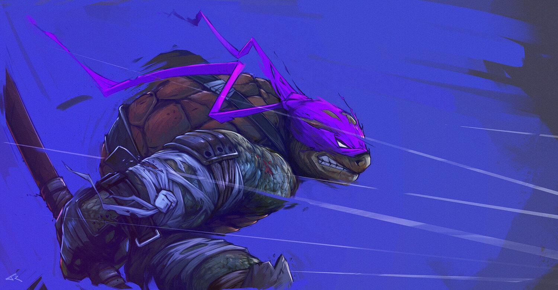 Rad Fan Made Teenage Mutant Ninja Turtles Art Has A Wild And Energetic Style Geektyrant