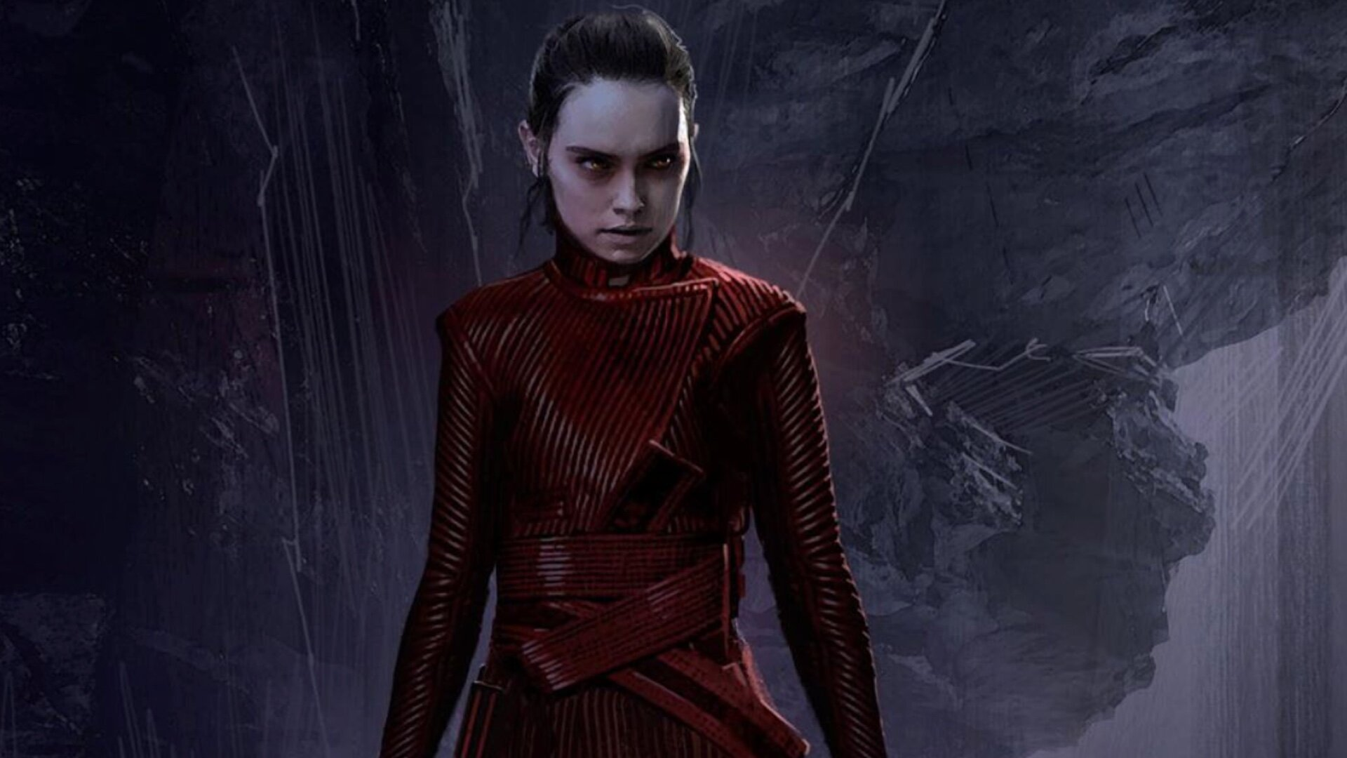 Star Wars The Rise Of Skywalker Concept Art Features Alternate Designs For Dark Rey Geektyrant