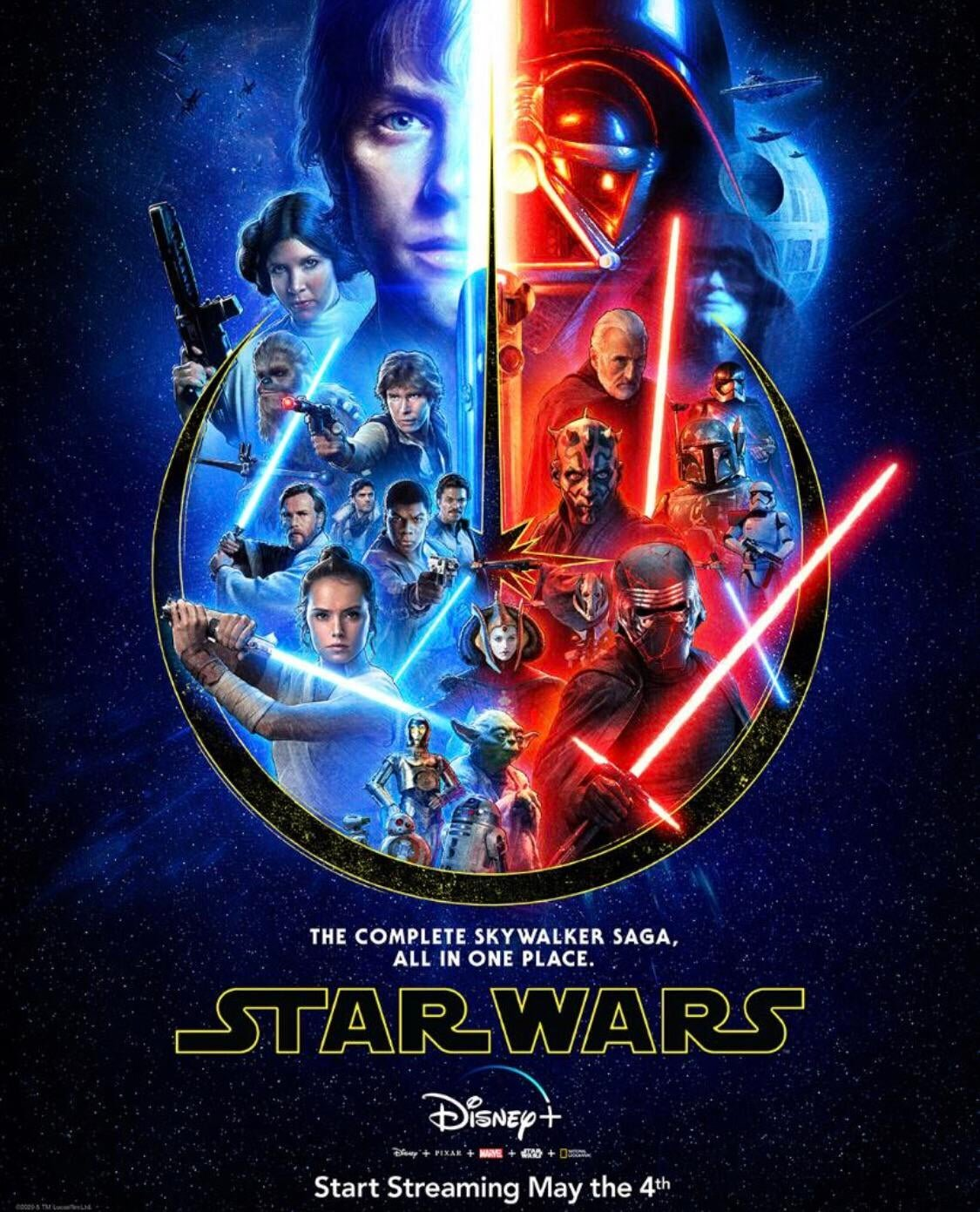 New Star Wars Poster For The Skywalker Saga And Disney Shares Concept Art For Its May The 4th Takeover Geektyrant