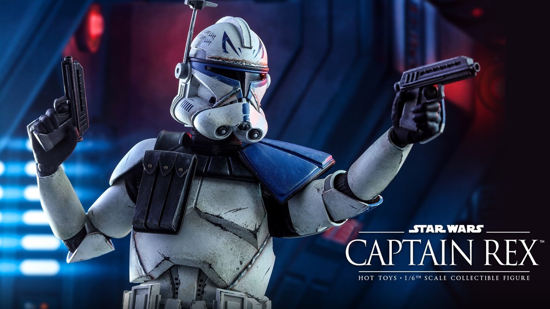 Hot Toys Shows Off Its Star Wars The Clone Wars Captain Rex Action Figure Geektyrant