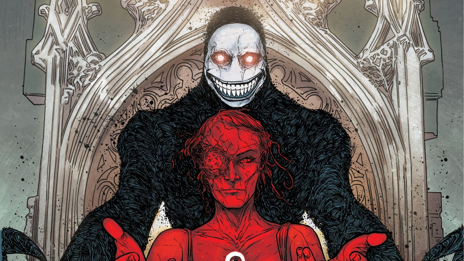 Here's Our First Look at the Horrifiying THE RED MOTHER #5 — GeekTyrant