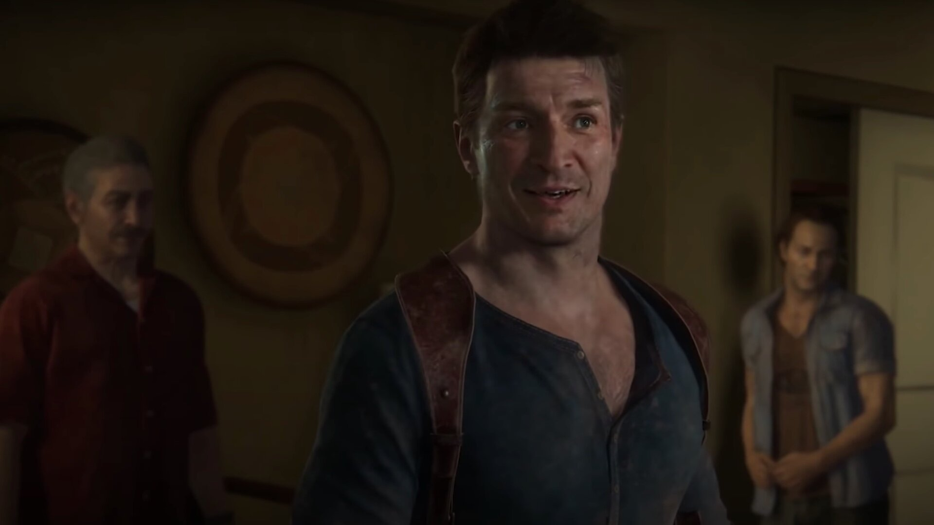 Nathan Fillion Awesomely Inserted Into Uncharted 4 As Nathan Drake