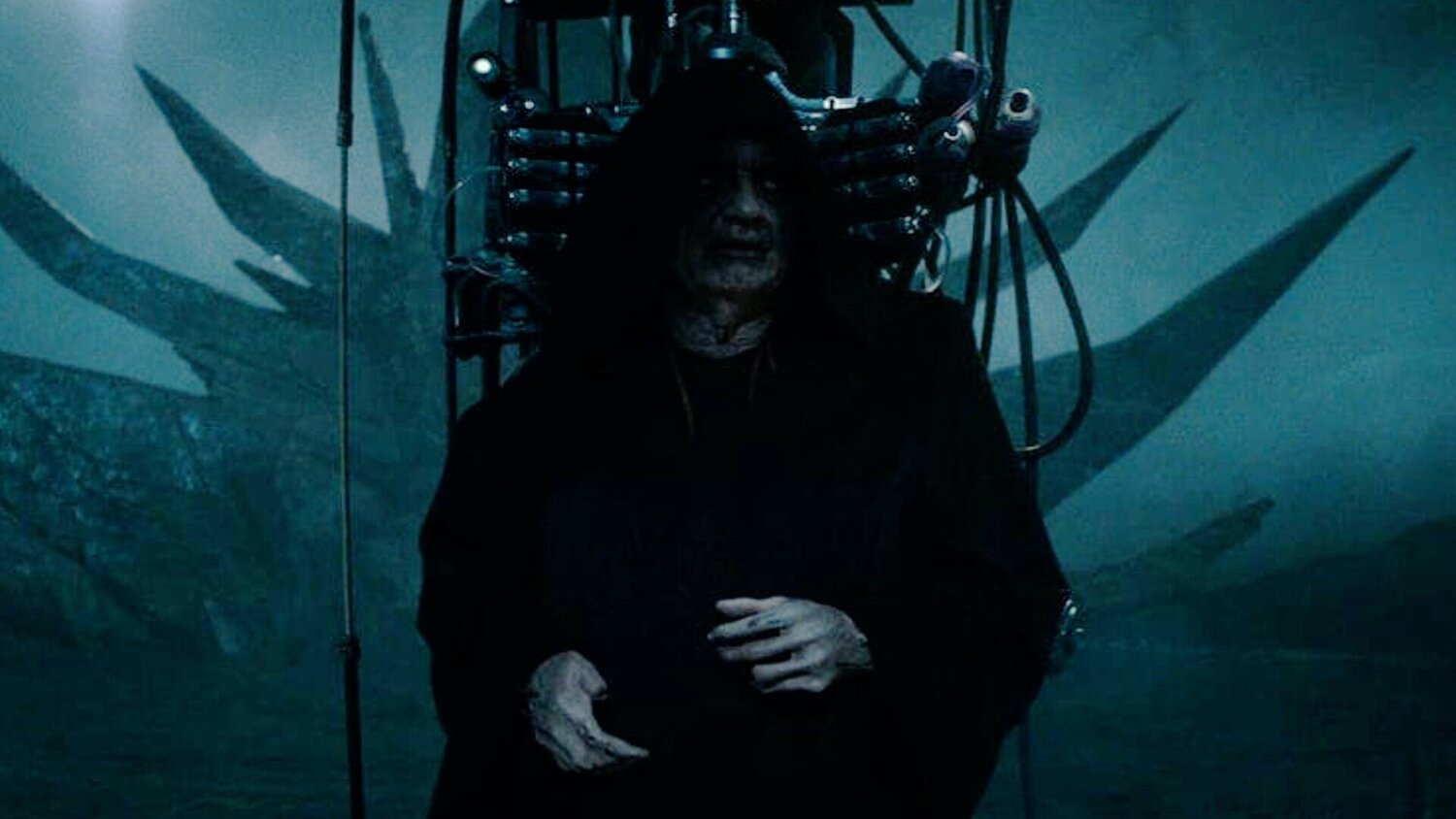 Super Early Concept Art For Emperor Palpatine In Star Wars The Rise Of Skywalker Geektyrant