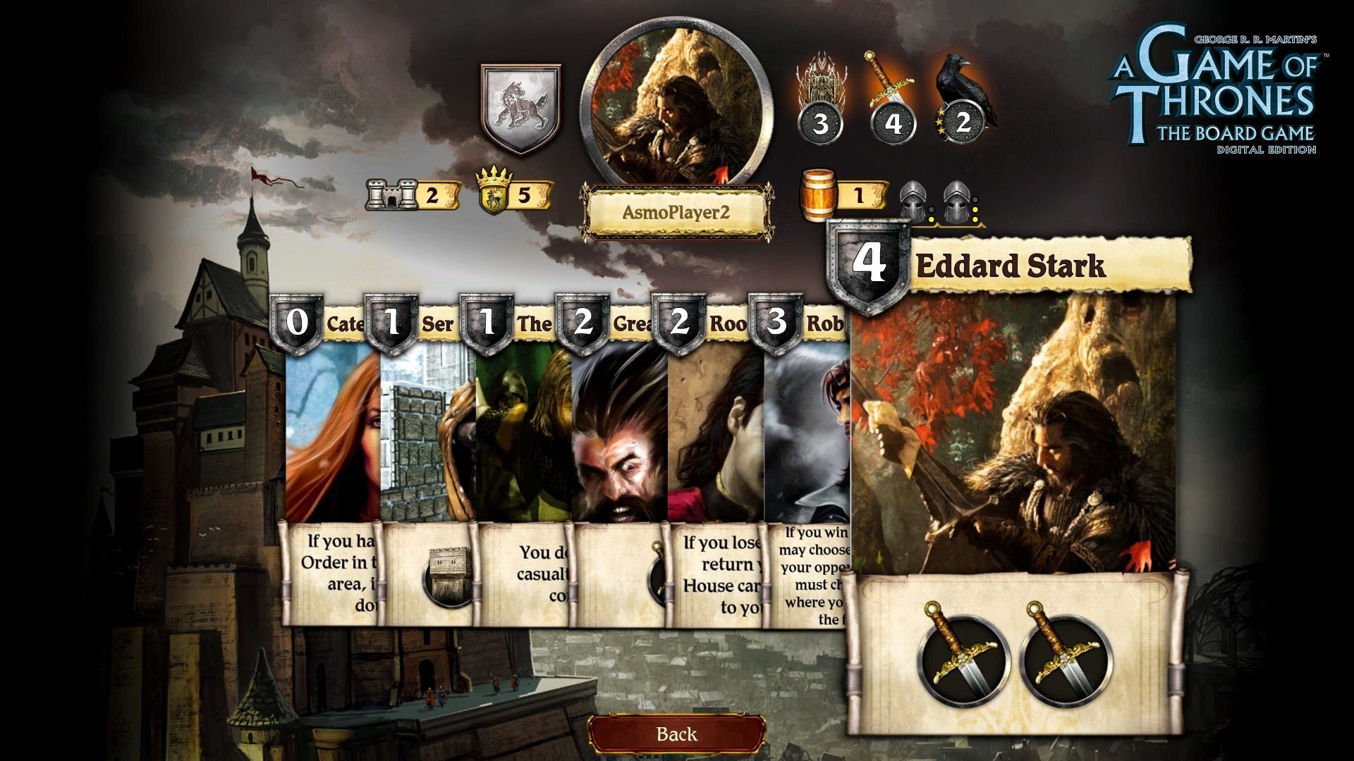 A Game Of Thrones The Board Game Digital Edition Gets A Release Window Geektyrant