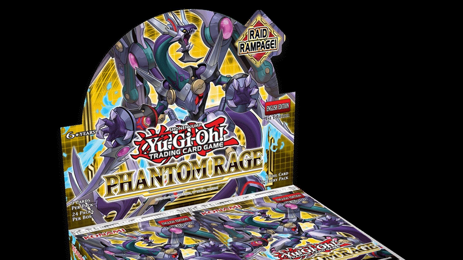 Raidraptors And Phantom Knights Are Coming Back To Yu Gi Oh With Phantom Rage Geektyrant