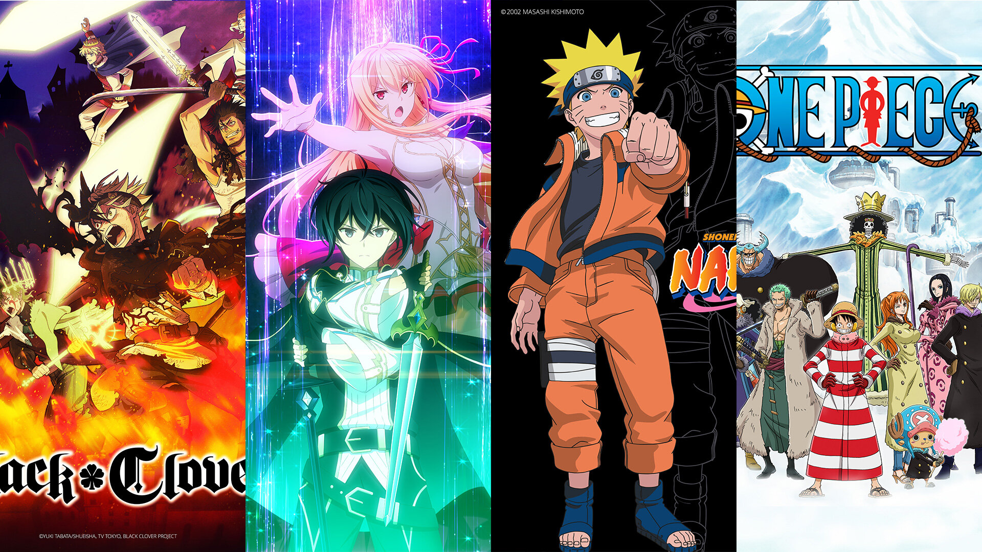 Some Funimation anime.