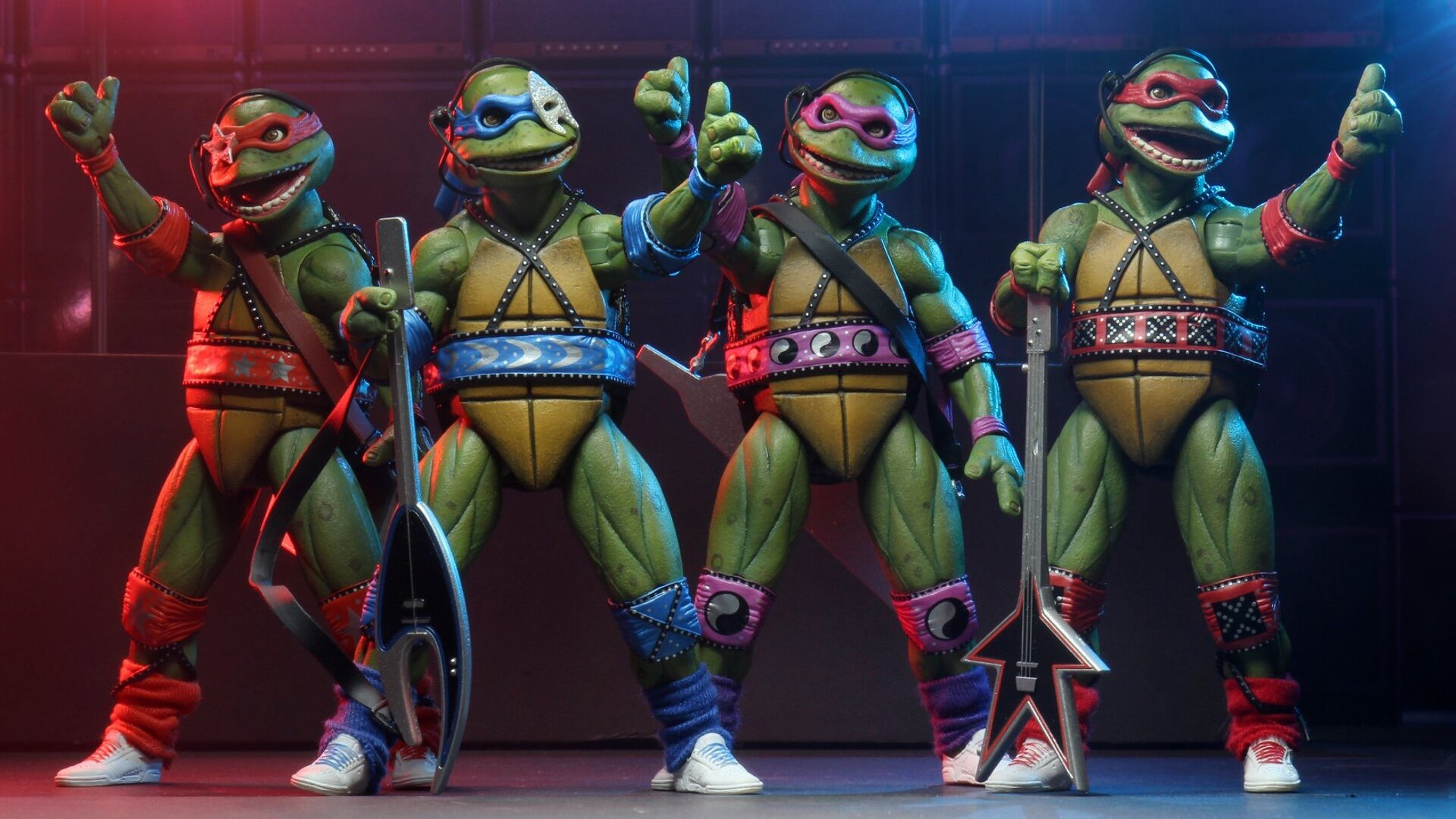 Action Figures Being Released For The Teenage Mutant Ninja Turtles Coming Out Of Their Shells Tour Geektyrant