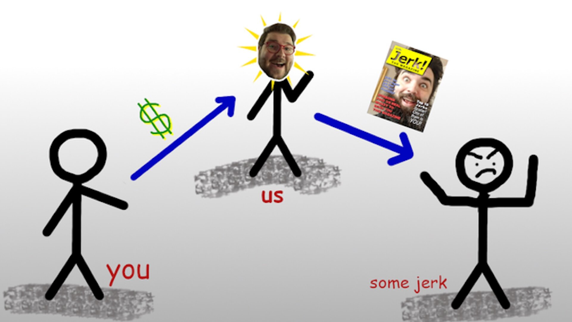 'Jerk! The Magazine' is a Magazine About Jerks That Will Be Sent To People You Think Are Jerks