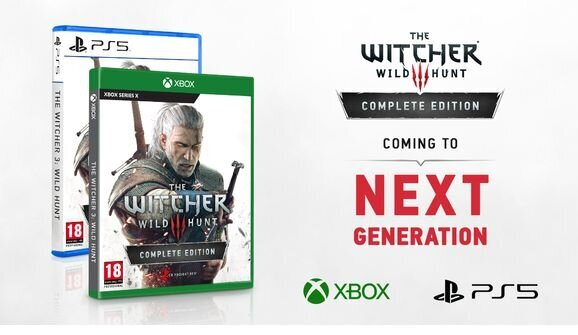 THE WITCHER 3: WILD HUNT is Coming to PS5 and Xbox Series X4