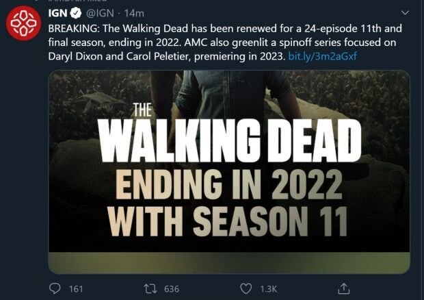 the-walking-dead-is-coming-to-an-end-in-2022-with-season-11
